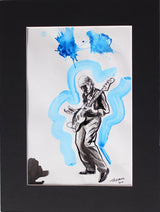 Original Norman Watt-Roy Flicker Book Drawing by Tadeus Blower (artist signed) #19