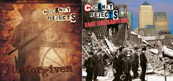 Cockney Rejects - Unforgiven & East End Babylon CD's