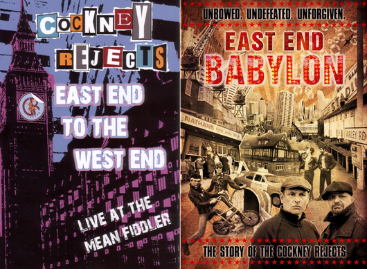 Cockney Rejects - East End To The West End DVD/CD & East End Babylon DVD