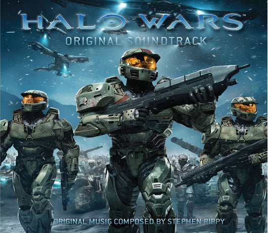 Halo Wars - Original Video Game Soundtrack - CD+DVD