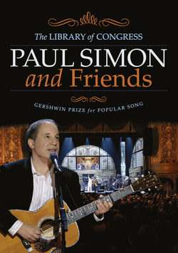 Paul Simon & Friends - Library Of Congress Gershwin Prize For Popular Song - DVD