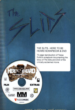 The Slits - News Cuttings and Scraps Book & DVD