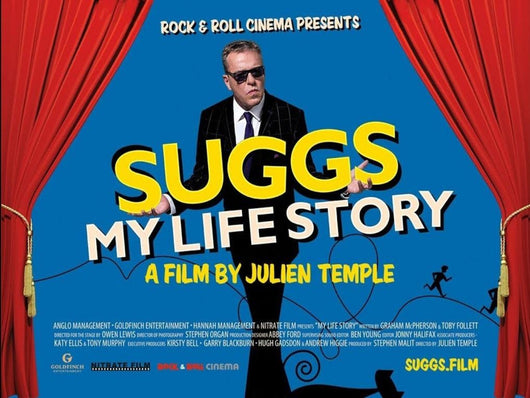 Suggs - My Life Story - Cinema Poster