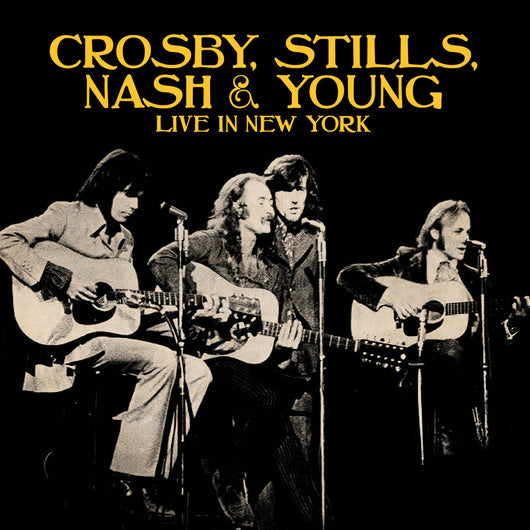 Crosby, Stills, Nash & Young - Live In New York 2CD