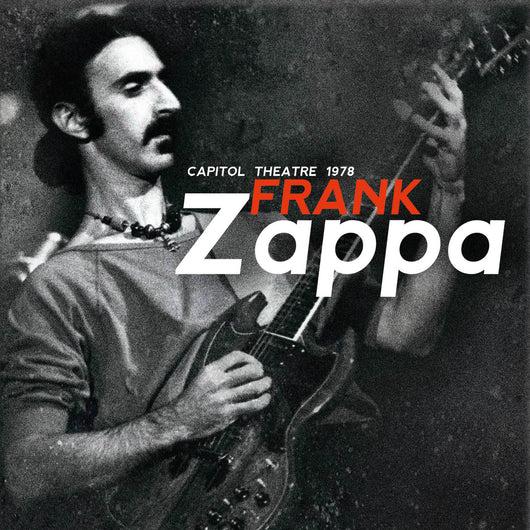 Frank Zappa - Capital theatre - 4CD Boxset - released 29/01/21