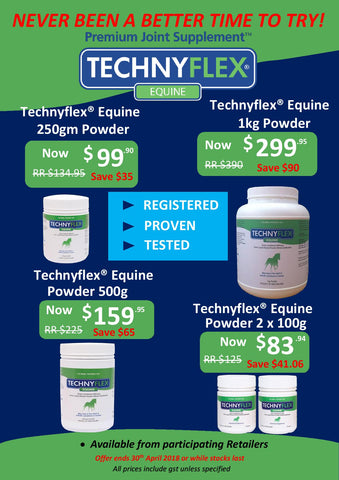 Technyflex Equine Autumn Promotion