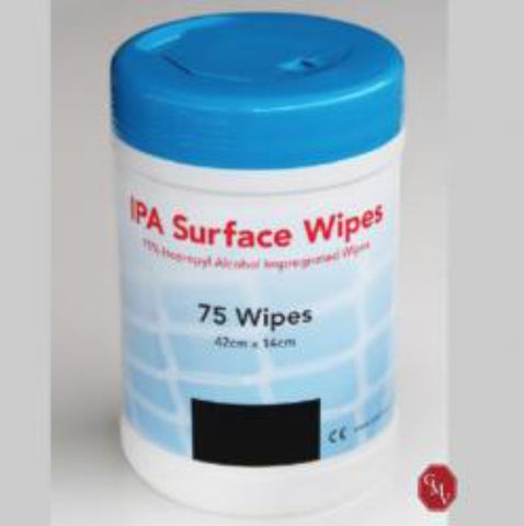 IPA Surface Wipes Canister