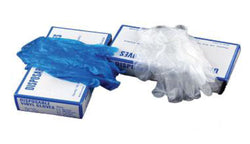 Vinyl Disposable Examination Gloves - Box of 100