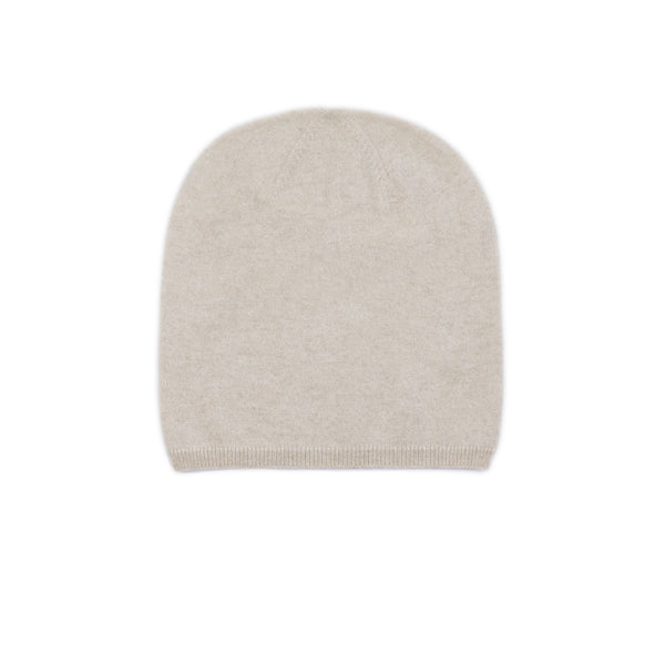 Ayo Oslo Palm Beanie Jersey sustainable cashmere