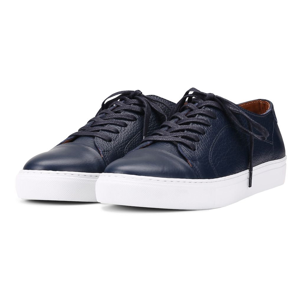 Classic Lace - Navy Floater Leather