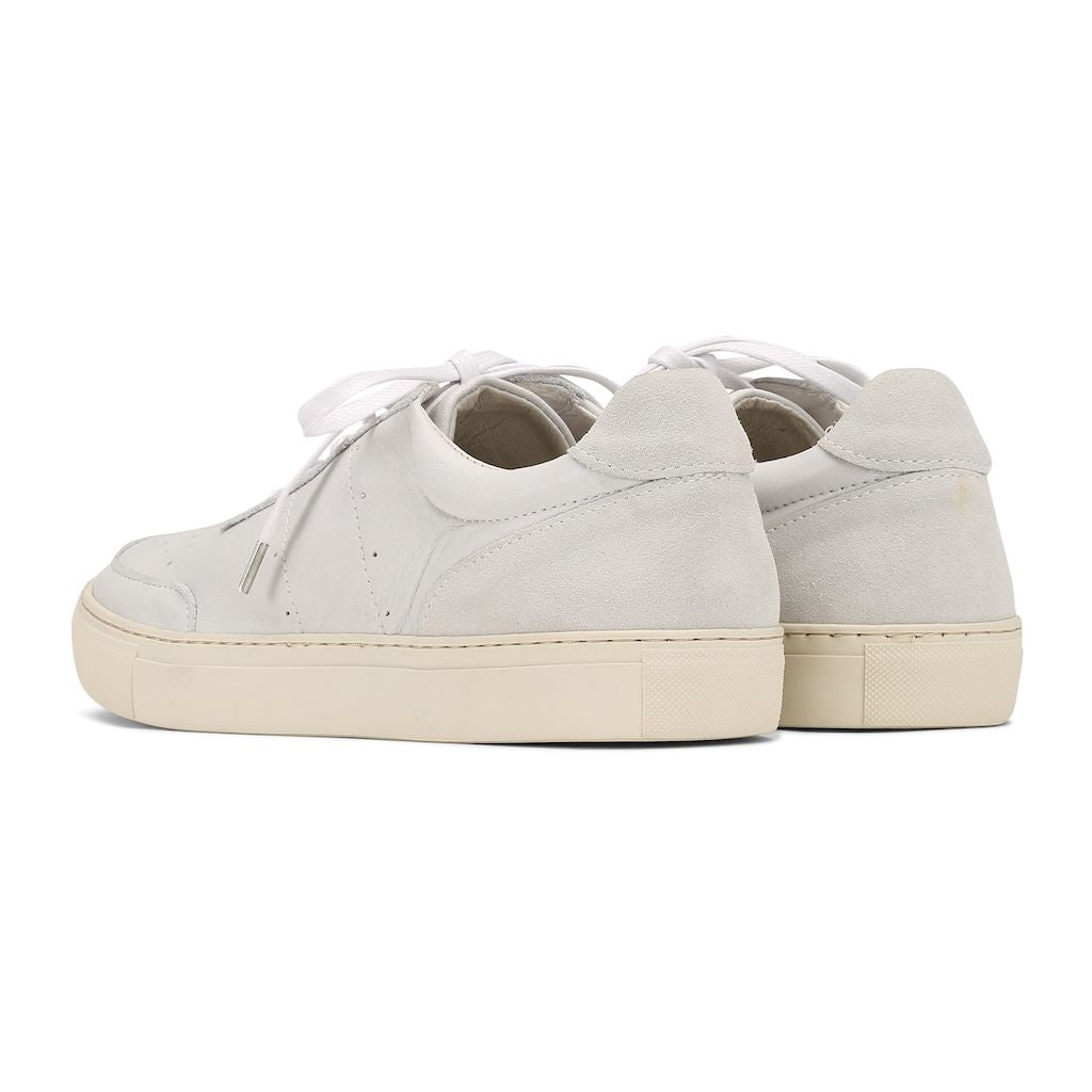 Base Low - White Leather