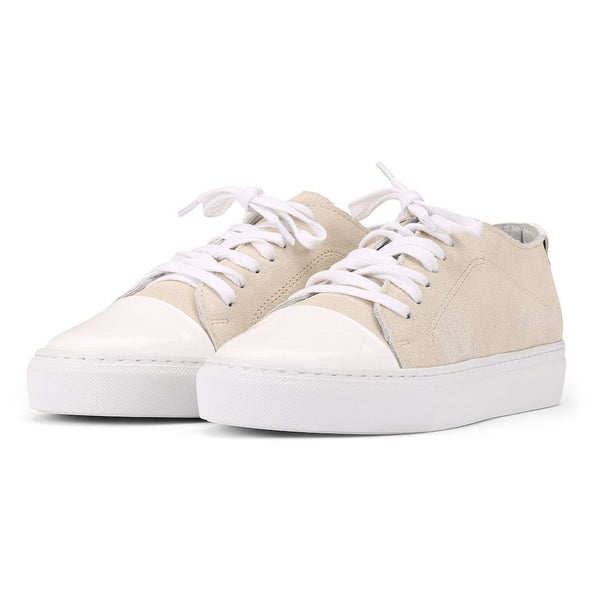 Classic Lace - Suede Off White