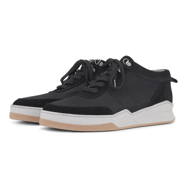 Base - Black Suede/Nylon