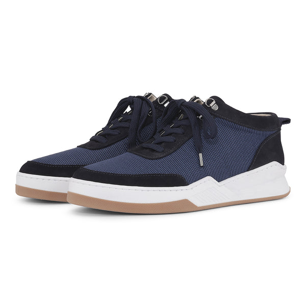 Base - Navy Suede/Nylon