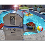 Pacific Living Outdoor SS Gas Oven Cart
