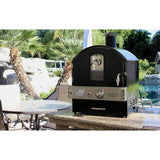 Pacific Living black Outdoor Gas Oven PFL-PL8BLK-LTL - pizza oven now