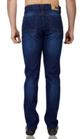 Dark Blue Whisker Stretch Denim