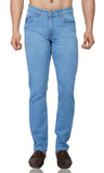 Light Blue Whisker Stretch Denim