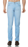 Light Blue Ice Stretch Denim - uber-urban