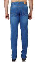 Medium Blue Whisker Stretch Denim