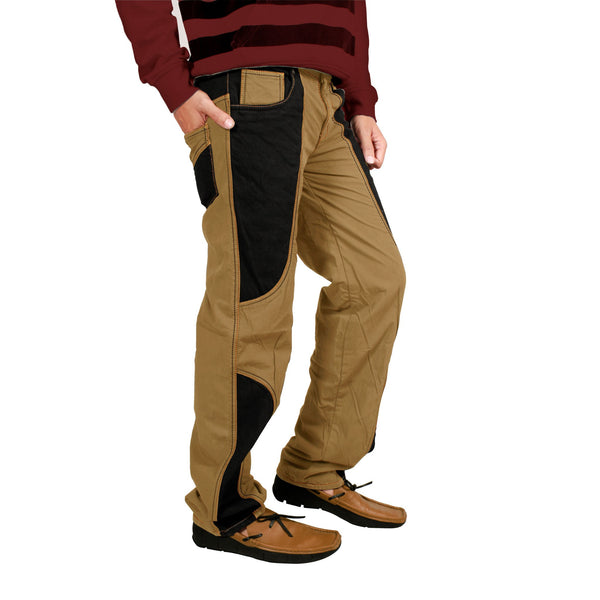 Peru Black Band Bonded Trouser For Men (Regular Fit)