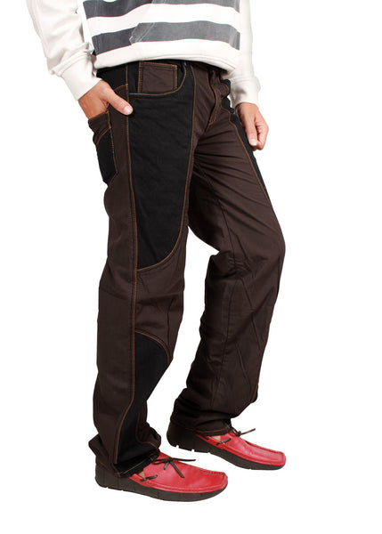 Roasted Coffee Brown Bonded Trouser - uber-urban