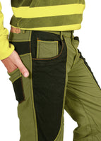 Soil Khaki Green Bonded Trouser