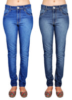 Shaded Blue And Dimblue Jeans
