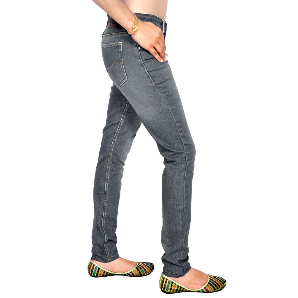 Shaded dimgray slim fit right side view