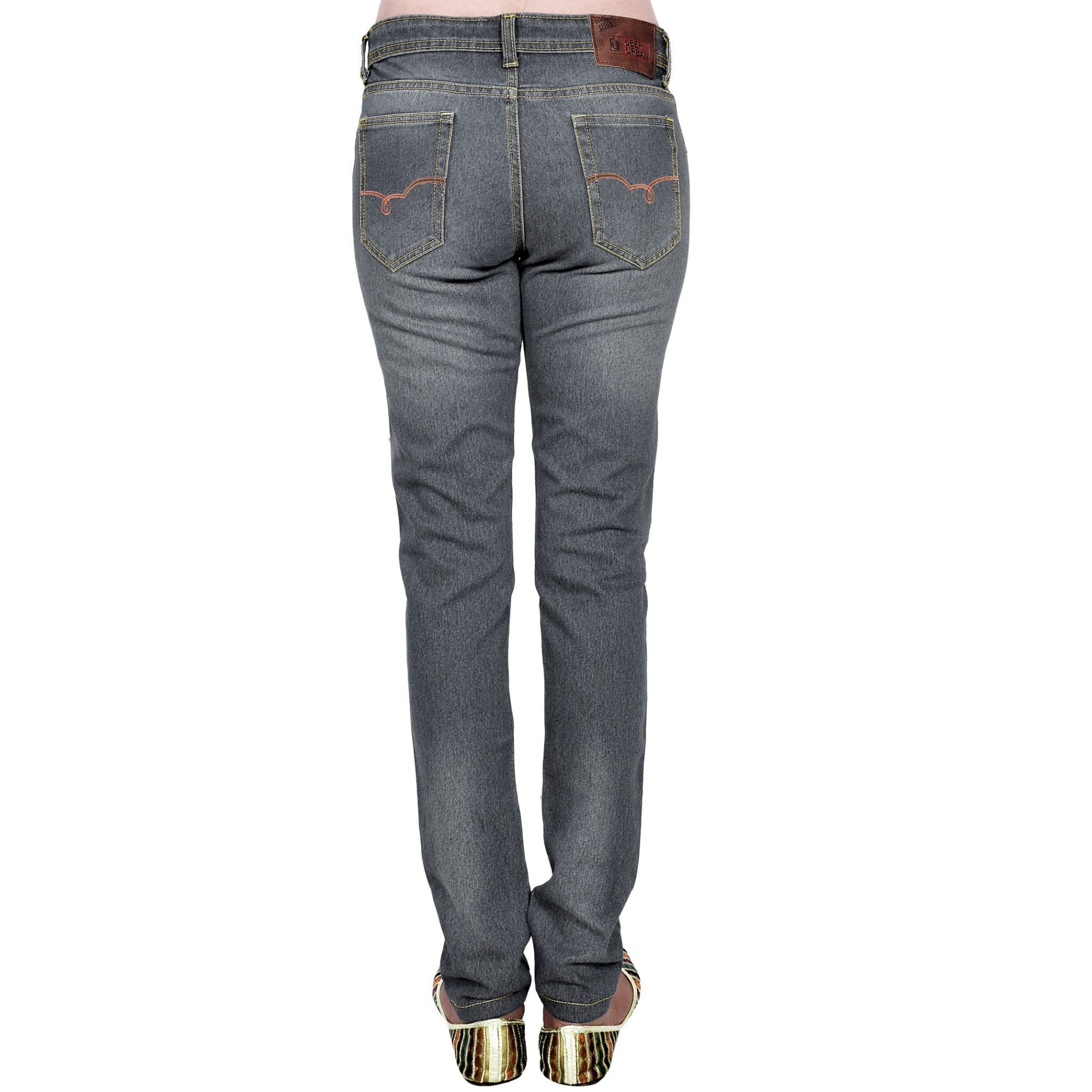 Shaded dimgray slim fit back view
