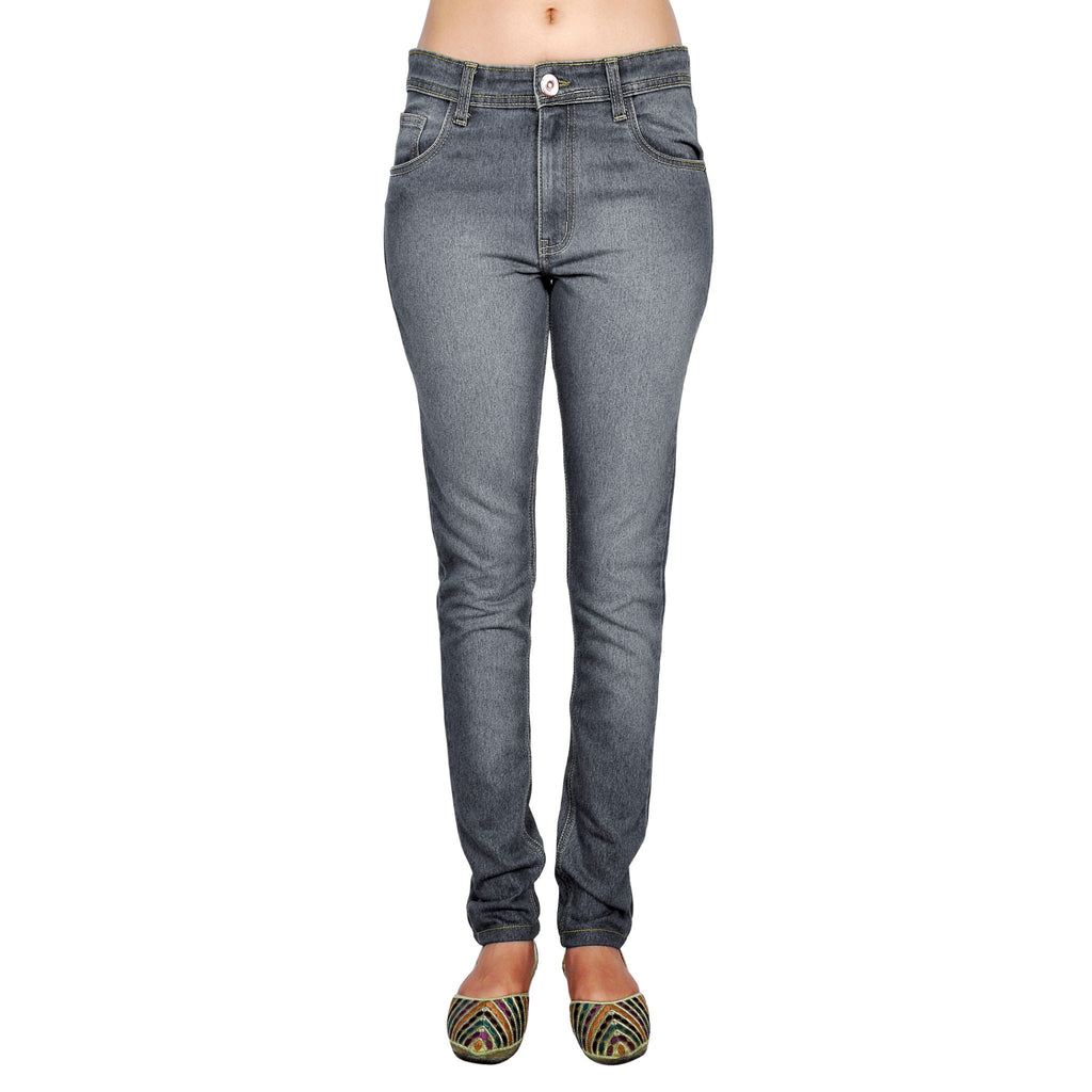 Shaded dimgray slim fit front view