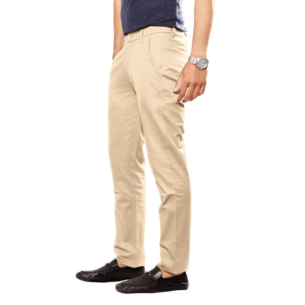 Khaki Sleek Pant left side view