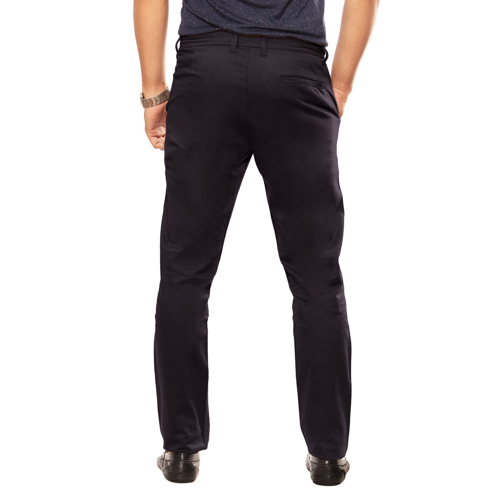 Coal Black Skeek Pant back view