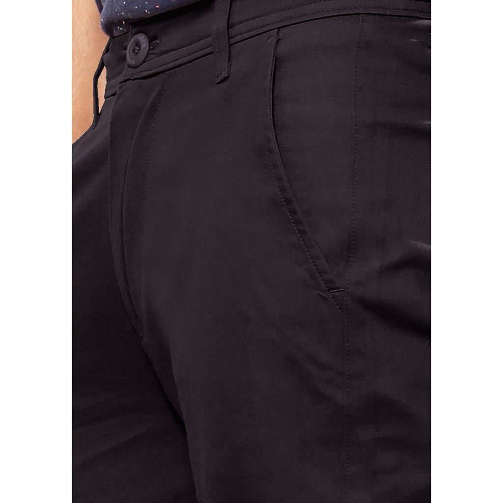 Coal Black Skeek Pant close up