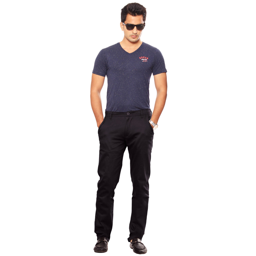 Coal Black Skeek Pant full view