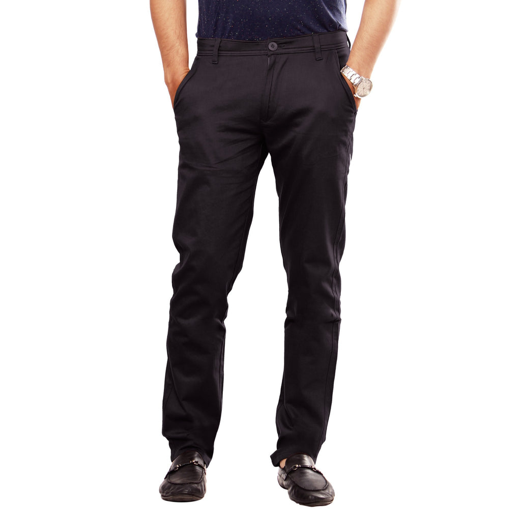 Coal Black Skeek Pant front view