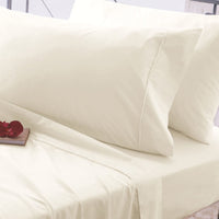 1000 Thread Count Cotton Modal TriBlend 4 piece Sheet Set - Cream
