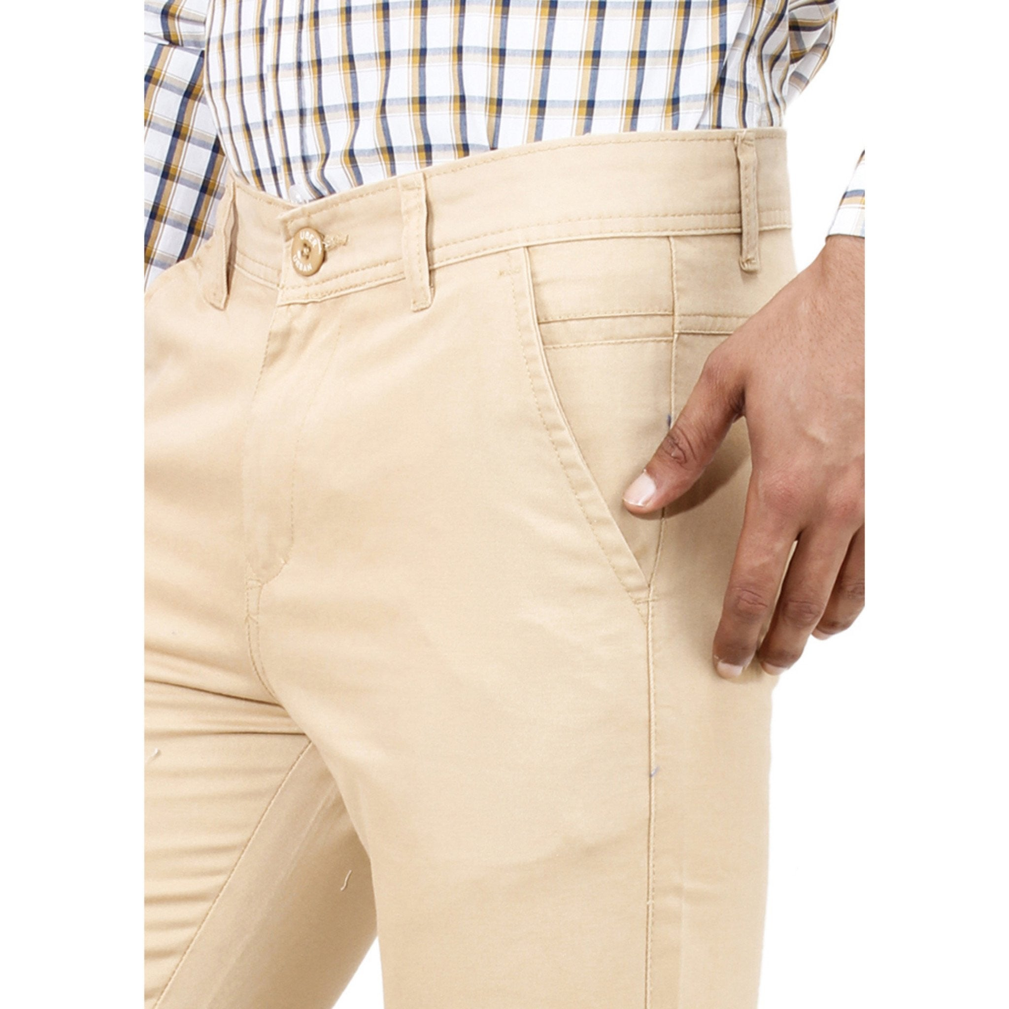 Uber Corn Silk Rocky Trouser close up view