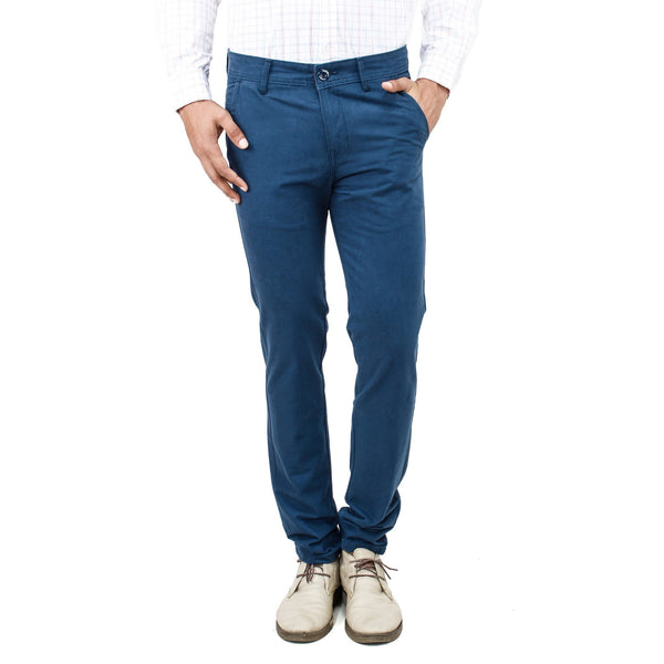 Steel Blue Chinos - uber-urban