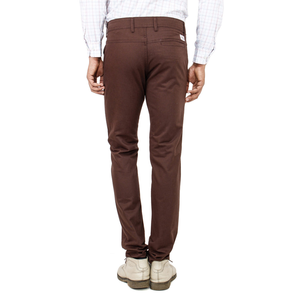 Uber Rocky Brown Trouser back view