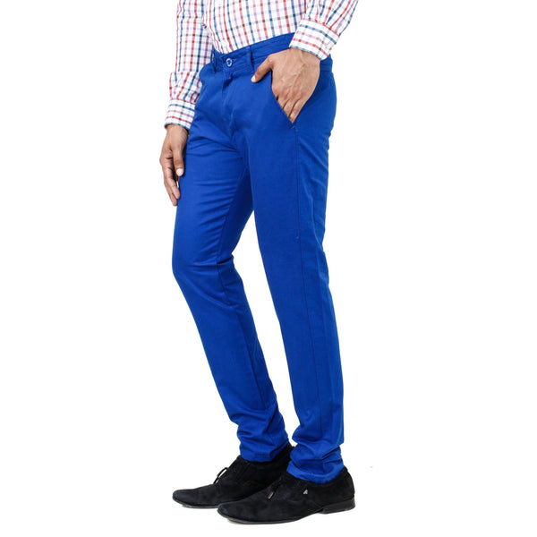 Sea Light Blue Rocky Trouser - uber-urban