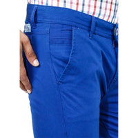 Uber Sea Blue Rocky Trouser close up view