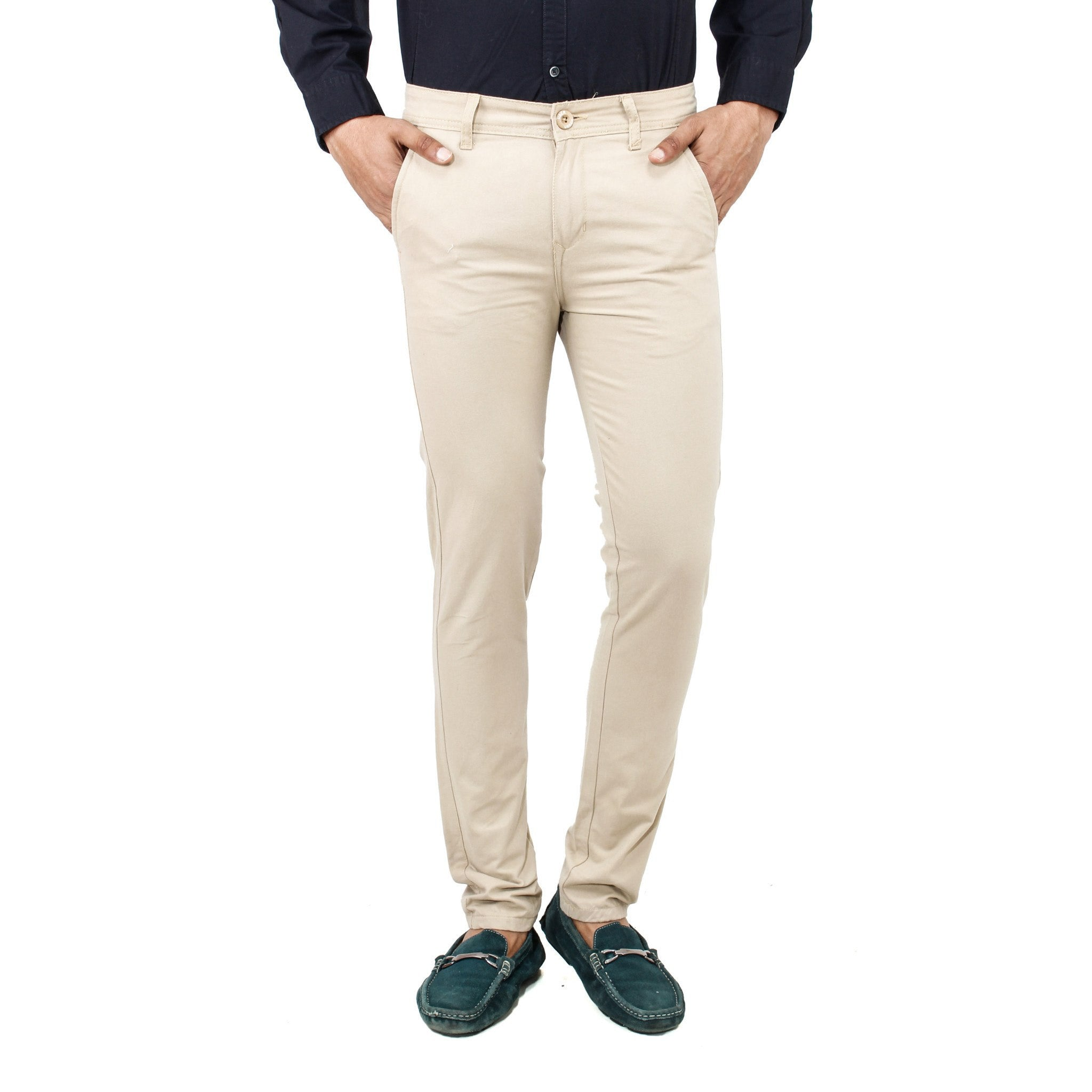 Uber Whitesmoke Rocky Trouser front view