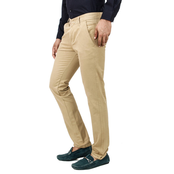 Pale Gold Rocky Trouser