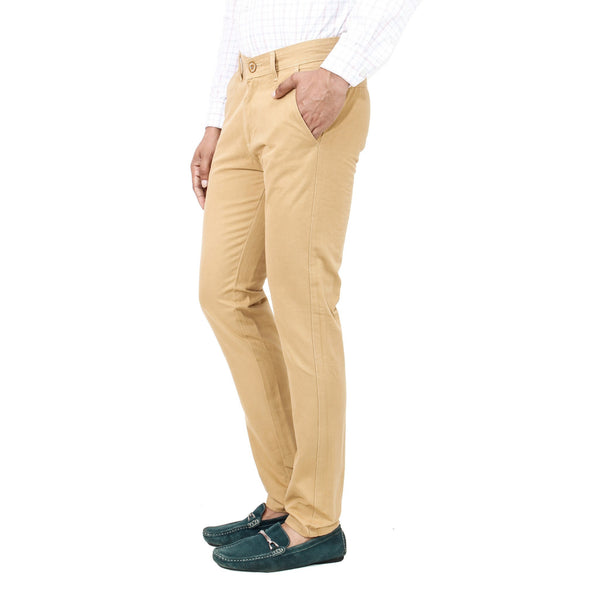Khaki Cotton Rocky Trouser - uber-urban
