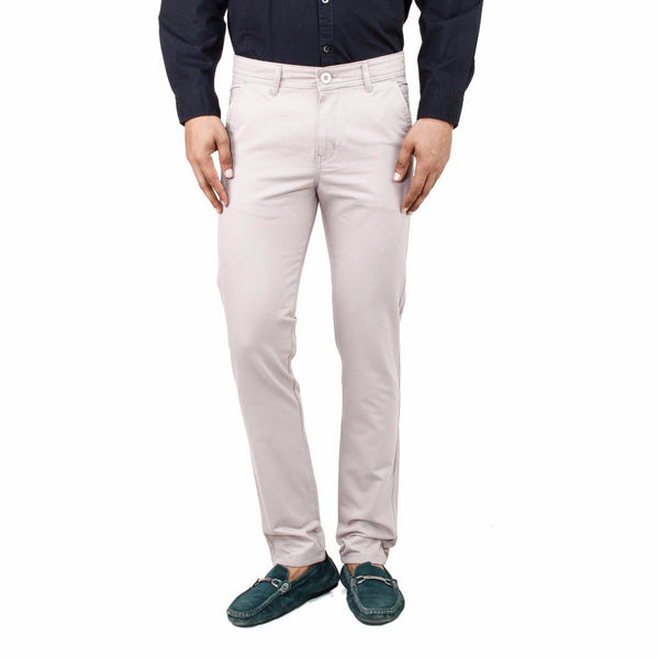 Gentle White Rocky Trouser front view