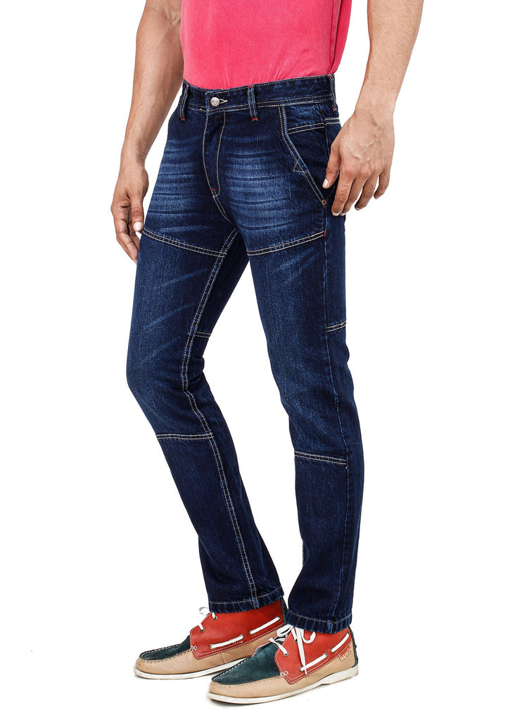 Graded Blue Jeans side view