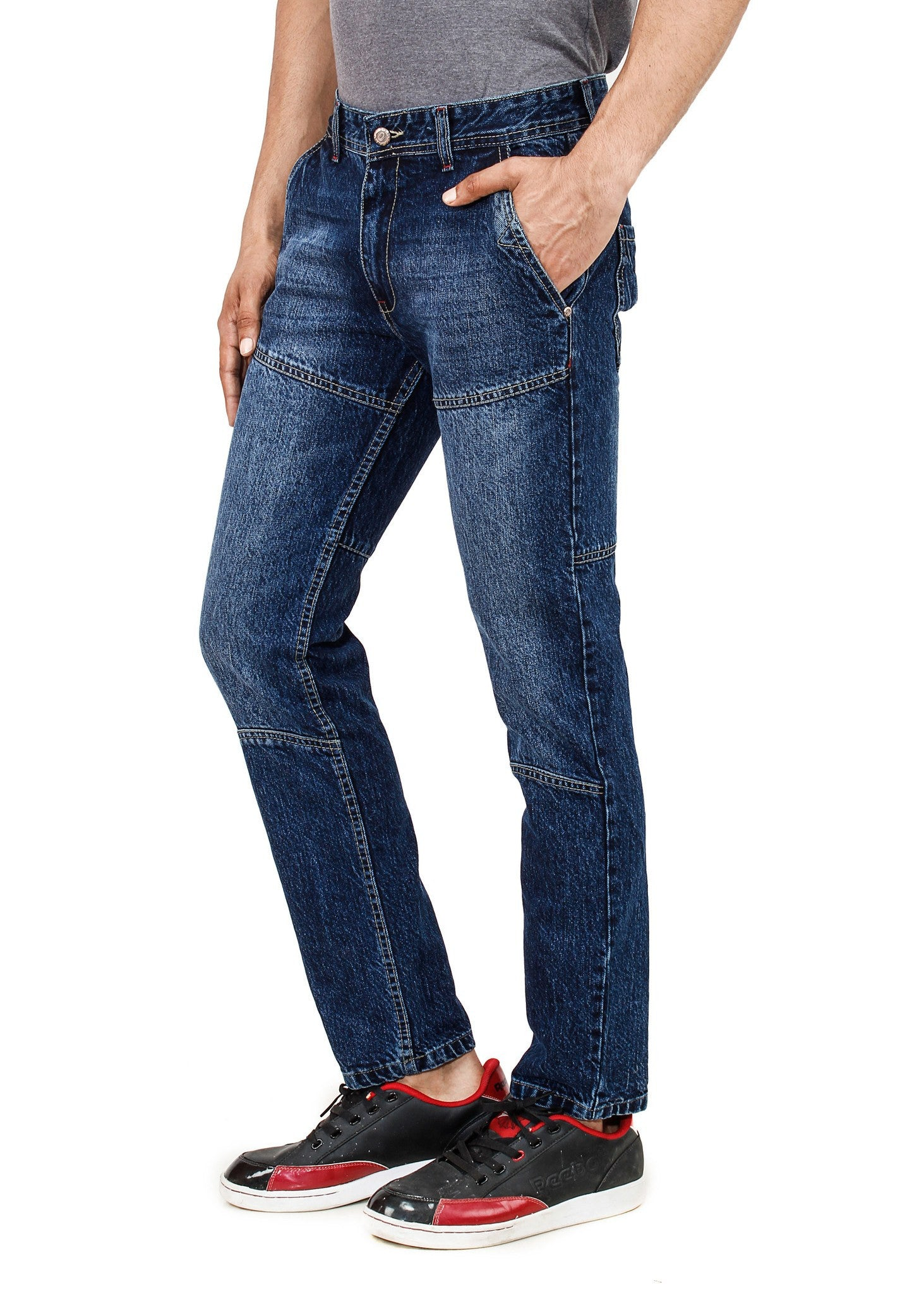 Graded Blacklue Jeans side view