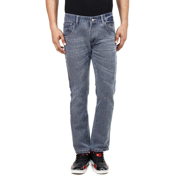 Stripped Ash Gray Jeans - uber-urban