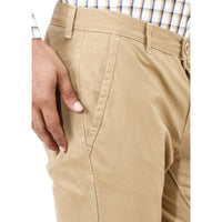 Regular Fit Khakhi Trouser Punto - uber-urban